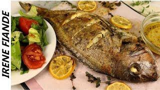 Обалденная Рыба Запечённая  в духовке с лимоном. Готовить обязательно! Irene Fiande