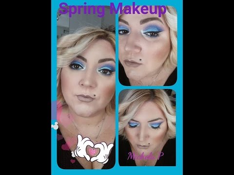 Spring Makeup 💋 ❀❀ with Palette NYX BEAUTY STAPLE