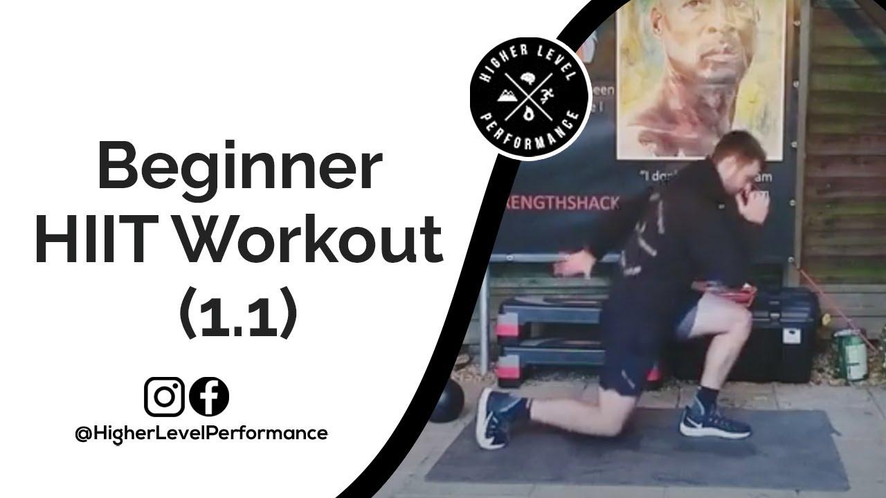 Beginner HIIT Workout (1.1)
