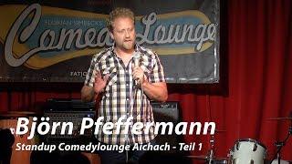 Björn Pfeffermann – Standup Comedylounge Aichach (Teil 1)