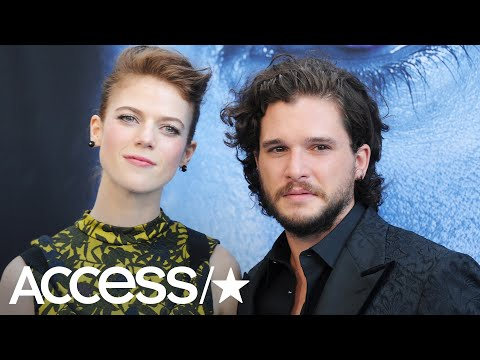 Kit Harington Thanks Wife Rose Leslie After 'Game Of Thrones' Wins Big At 2019 Emmys