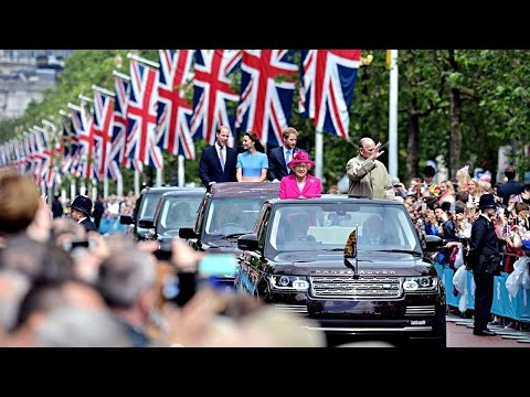 Queen's 90th birthday street party celebration in London