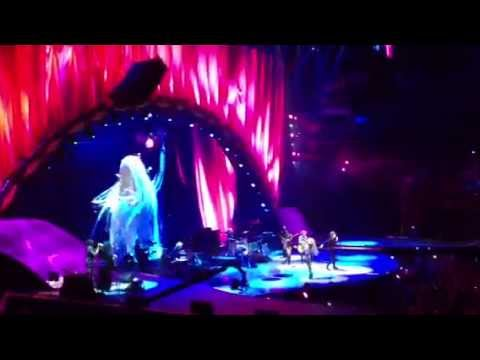 The Rolling Stones Live final stage with Lady GAGA  Dec 15, 2012.