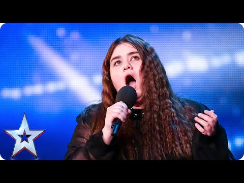 Can nervous opera singer Emma Jones find her voice? | Britain's Got Talent 2015