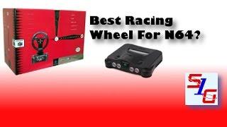 Ascii Racing Wheel For Nintendo 64 Review