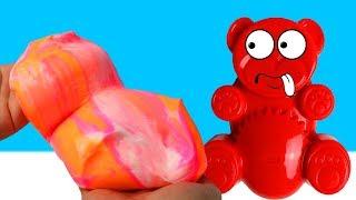 Lucky Bär bekommt 1KG Schleim und weitere Spielzeuge