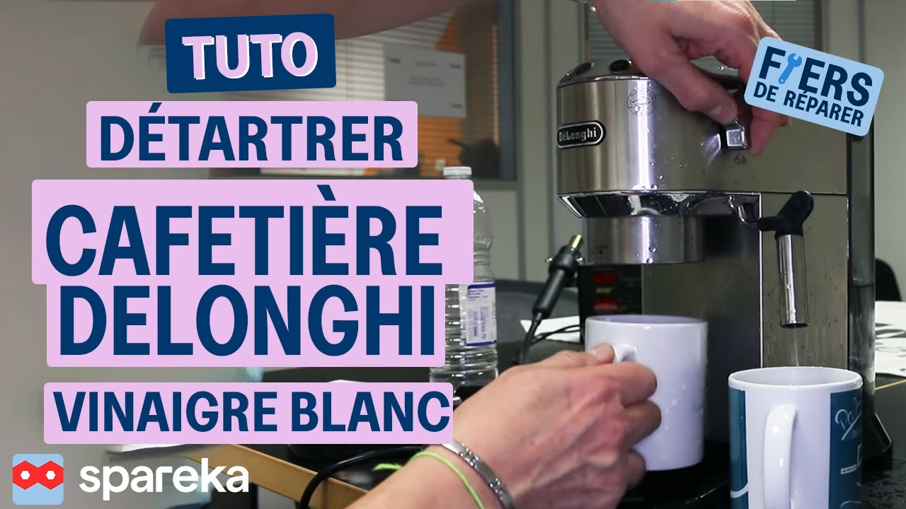 comment bien d tartrer sa cafeti re delonghi youtube. Black Bedroom Furniture Sets. Home Design Ideas