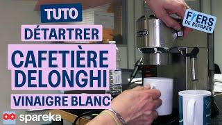 Comment détartrer une cafetière DELONGHI avec du vinaigre blanc ?