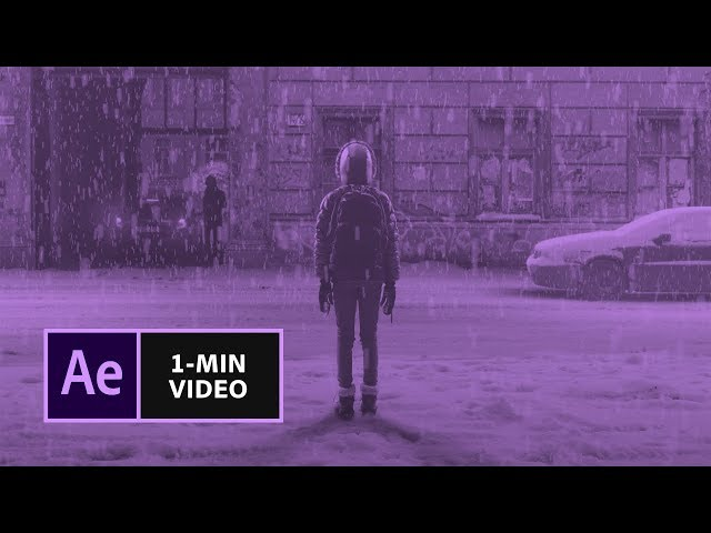 How to Create Snow in After Effects | Adobe Creative Cloud
