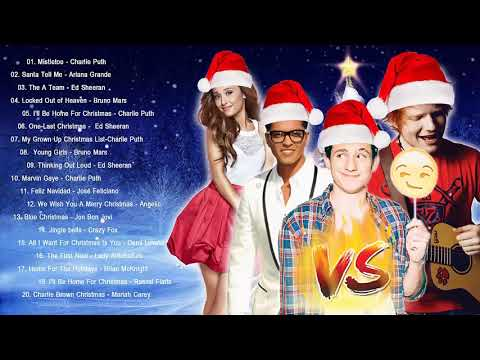 Bruno Mars,Charlie Puth,Ed Sheeran Best Christmas Songs,Greatest Hits Pop Playlist Christmas 2018