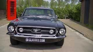 Ford Mustang 1967 original GTA 289 V8 -VIDEO- www.ERclassics.com