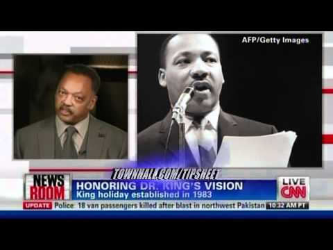 """Jesse Jackson: King's """"Dream Is Under Attack""""--He'd Want Gun Ban, H'care, Full Employment..."""