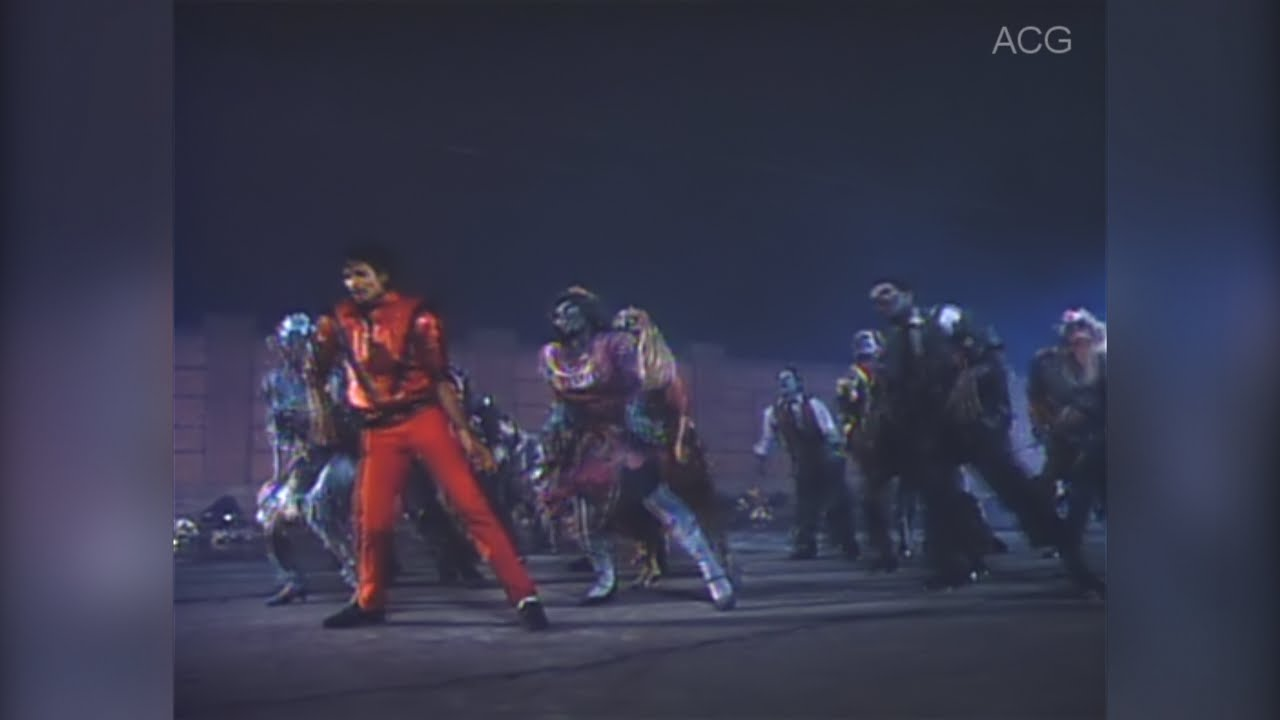 Michael Jackson - Thriller Dance [AUDIO + VIDEO RESTORED ... Michael Jackson Thriller Video Dance