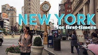 New York for First-Timers | Janine Gutierrez