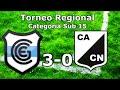 Sub 15 | Fecha 3: Gimnasia de Jujuy 3-0 Central Norte | Torneo Regional del NOA