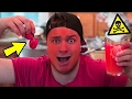 WORLDS HOTTEST DRINK CHALLENGE!!! 100 Ghost Peppers 🌶  *INSANELY DANGEROUS* (Experiment)