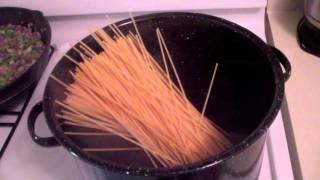 Dad's Simple Spaghetti