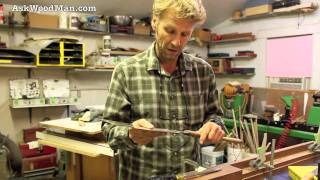 43 How To Rough Cut With A Japanese Saw • How To Change Blades On A Japanese Saw - Part 4 Of 4