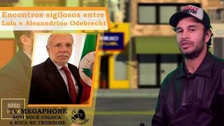 Encontros sigilosos entre Lula e  Alexandrino  Odebrecht