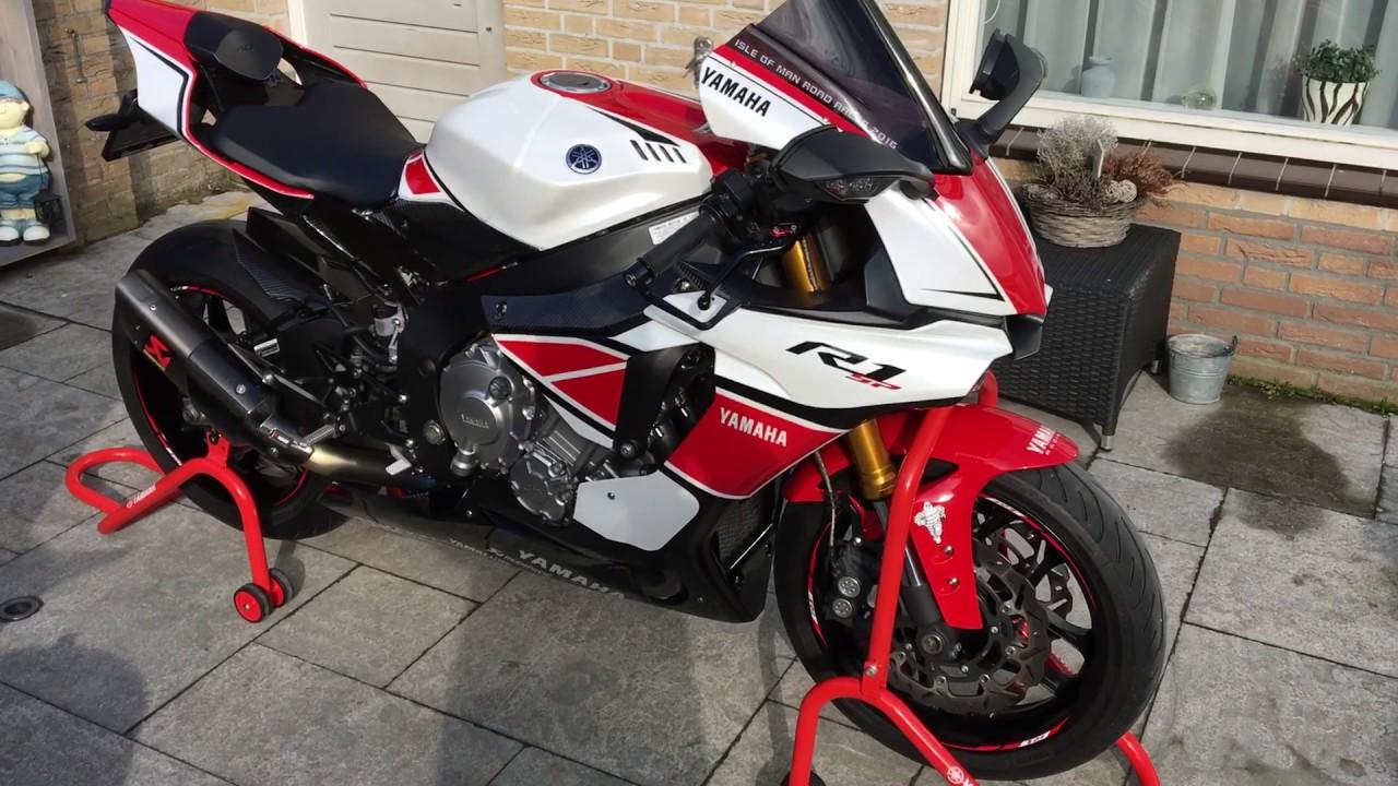 White Yamaha R