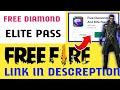 Free Elite Pass And Diamonds   Free Diamond   Free Elite Pass   Krishna Gamer 07   Diamond And Elite