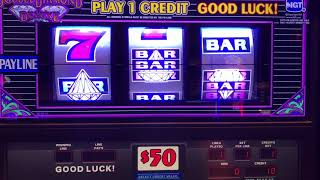 Double Diamond Deluxe - High Limit - $50 Max Bet