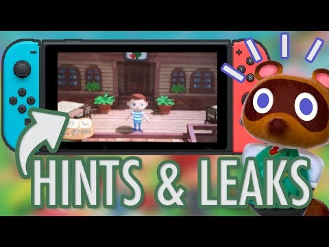 Animal Crossing Switch Announcement: LATEST RUMOURS, HINTS & LEAKS
