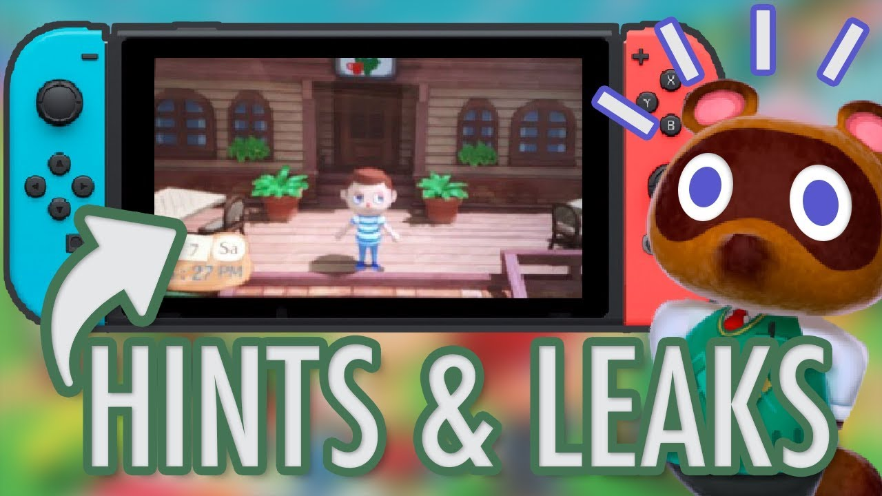 Animal Crossing Switch Announcement: LATEST RUMOURS, HINTS & LEAKS - YouTube