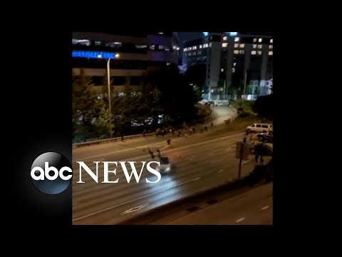 Seattle Driver Arrested for Slamming into Protesters