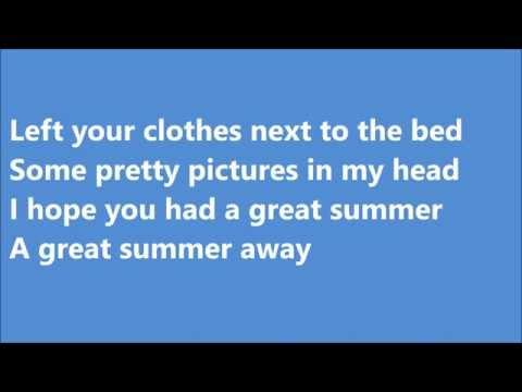 Vance Joy Great Summer Lyrics