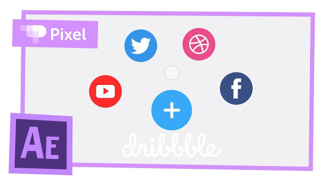 Создаем анимацию кнопок в After Effects | уроки для новичков
