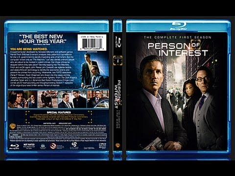 Person Of Interest Season 1 Blu-ray Unboxing