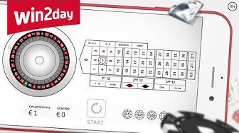 Roulette auf win2day – Tutorial