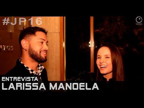 Aniversário Jean Paulo Campos - entrevista com Larissa Manoela