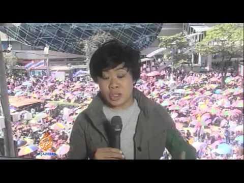 Thai protesters launch Bangkok 'shutdown'