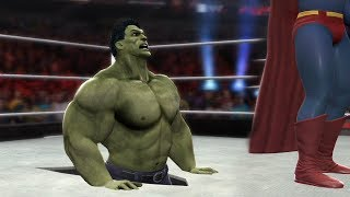 Video SUPERMAN VS HULK - I Quit Match download MP3, 3GP, MP4, WEBM, AVI, FLV September 2018