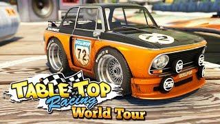 ПОТНЫЕ ДРИФТ ГОНКИ НА СУПЕР ТАЧКАХ! - Table Top Racing World Tour
