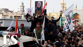 Iran Soleimani death: Thousands in Baghdad mourn Iranian General killed in US airstrike
