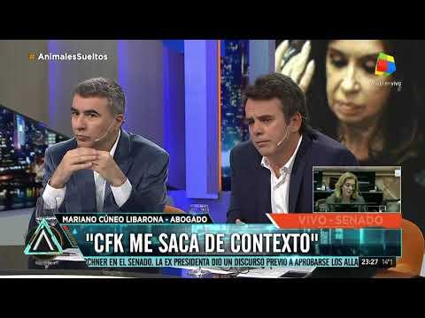 Cúneo Libarona: Cristina me sacó de contexto