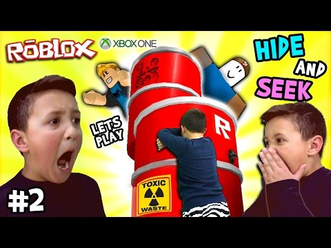 Thumbnail: Let's Play ROBLOX #2: Hide and Seek Extreme w/ Mike (FGTEEV Xbox One Gameplay / Skit)