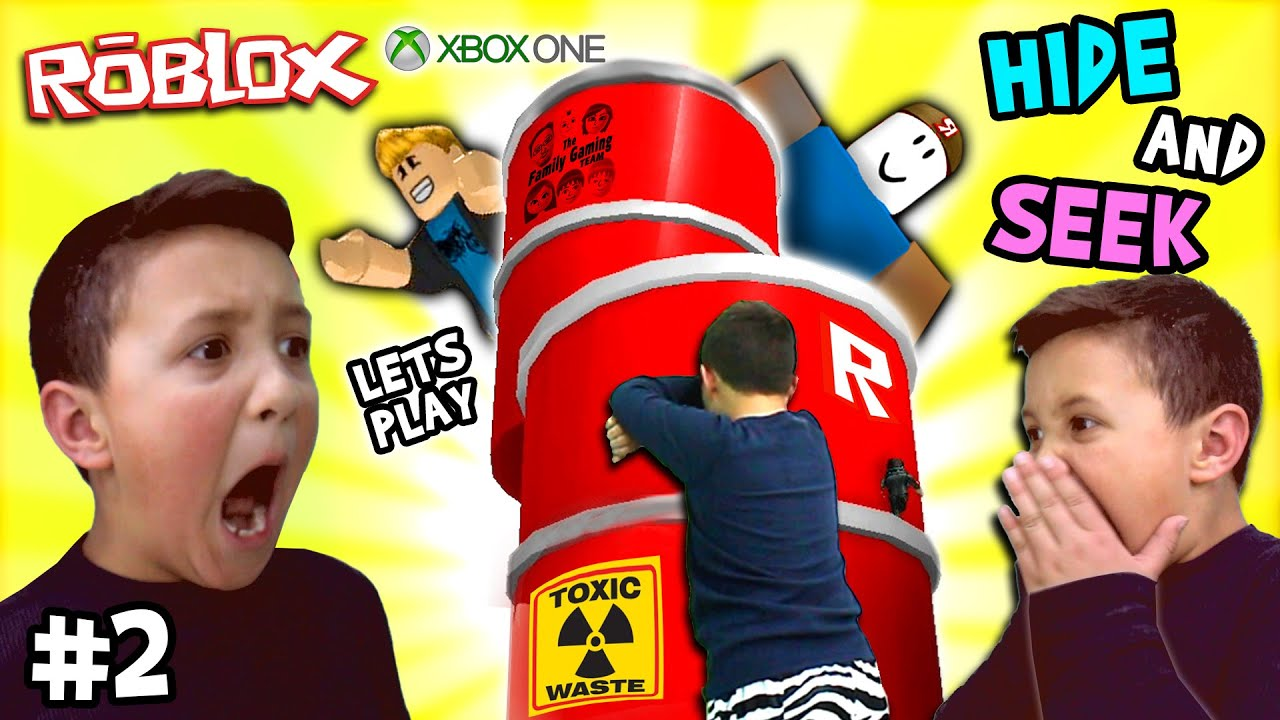 Lets Play ROBLOX #2: Hide and Seek Extreme w Mike (FGTEEV Xbox One Gameplay  Skit)