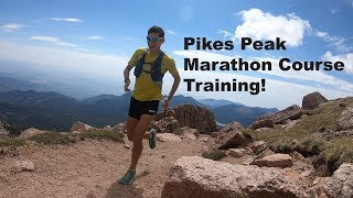 Pikes Peak Marathon Training: Summit Workout and Views | Sage Canaday Running