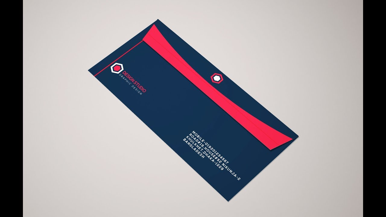 How to make envelope professional envelope design in adobe how to make envelope professional envelope design in adobe illustrator maxwellsz