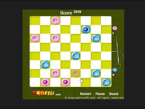 Koffii  Checkers (Шашки онлайн) - прохождение игры