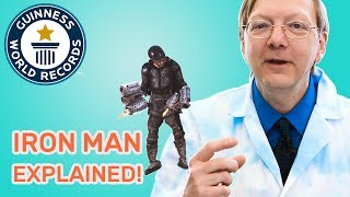 Real life Iron Man suit - Science Explained with Science Bob