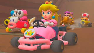 Mario Kart Tour - Gameplay Walkthrough - Peach (iOS, Android)