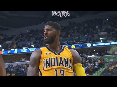 Paul George Puts Up 37 Points in Win Over POR | 12.10.16