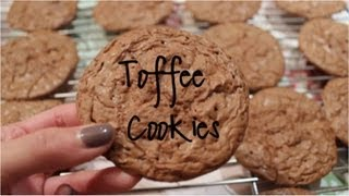 How To Make Toffee Cookies!