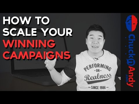 How To Scale Your Winning Affiliate Campaigns - Vertical and Horizontal Scaling