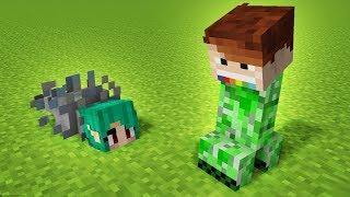 WIEDŹMA ZAMIENIŁA NAS W MOBY! Minecraft   CZOKLET I GAENALI